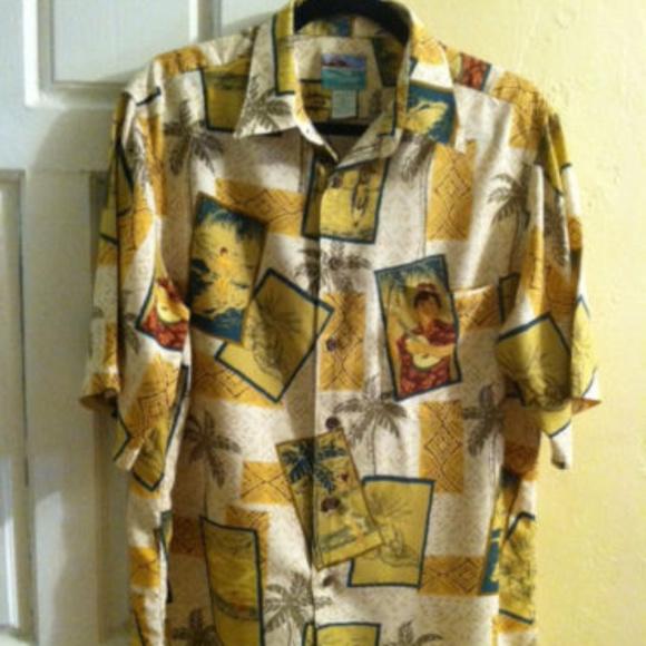 4d7f28428 reyn spooner Shirts   Mens Hawaiian Z Lukulele   Poshmark